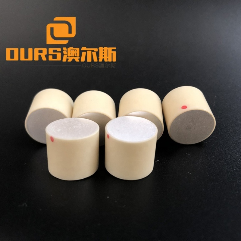 Industry Transducer Electronic Components Piezoelectric Ceramic Piezo Wafer 14x12MM Cylinder Shape Ultrasonic Piezoceramic