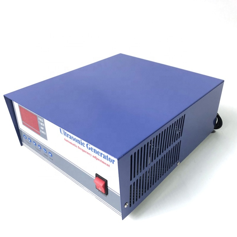 Low Frequency 20KHz/1200W Frequency Adjustable Ultrasonic Cleaning Generator For Cleaning System