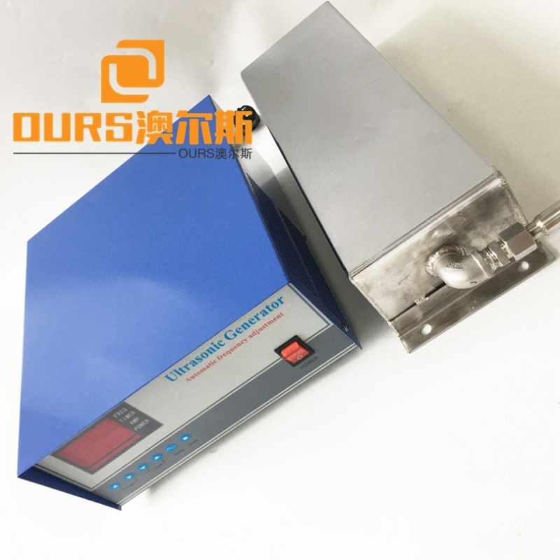 28KHZ 1000W Bottom Type Customized Ultrasonic Transducer Pack For Ultrasonic Cleaning Equipment