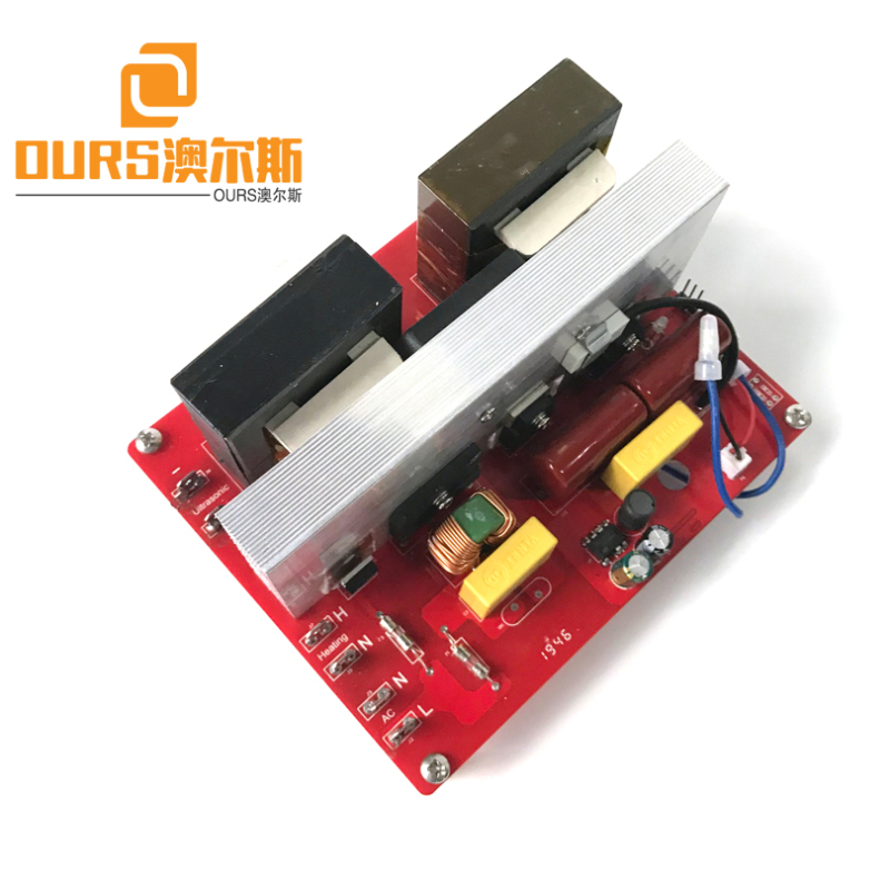 135KHZ100W Automatic Frequency Adjustment Ultrasonic Diver Board For Cleaning Camera Parts