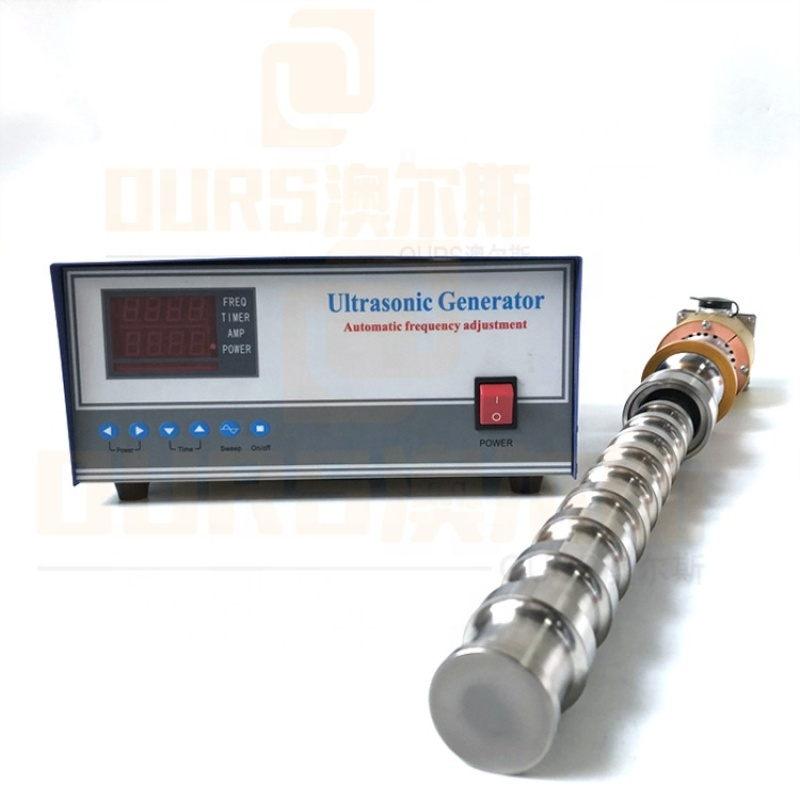 Industrial Wastewater Processor Waterproof Ultrasonic Reactor/Vibration Rod Single Frequency 20K Ultrasonic Power Output
