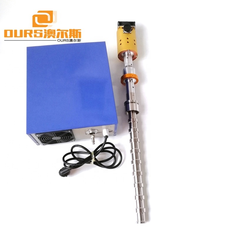 2000W Industrial Ultrasonic Homogenizer Sonicator Probe And Ultrasonic Generator For Dispersion Mixing Machine