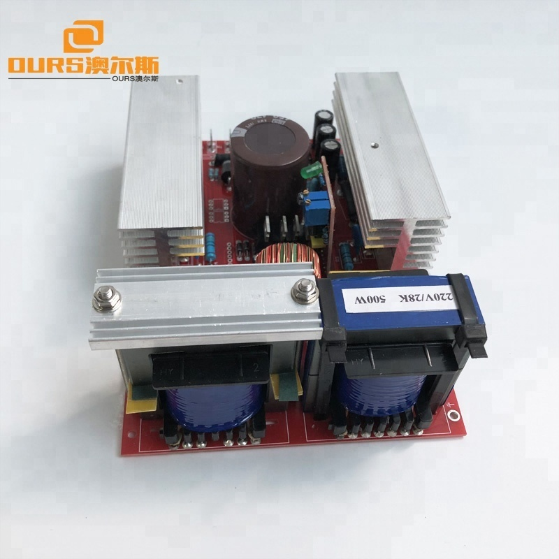 28khz Ultrasonic Cleaning Transducer Cleaner Working With Ultrasonic Signal PCB Generator
