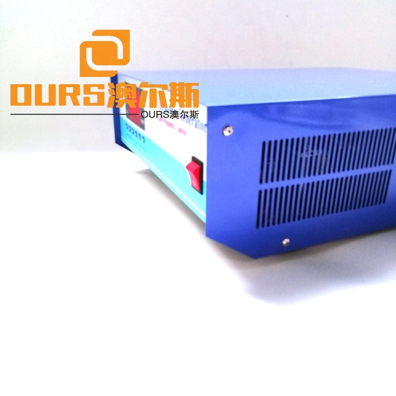 Multi Frequency Ultrasonic Wave Power Provider 25K/45K/80K Frequency Switchable Industrial Cleaning Generator With CE