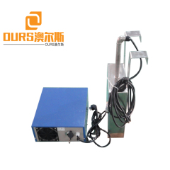 28khz Or 40khz 0-5000W High Power Immersible Ultrasonic Transducer Pack For Excavators Exchangers