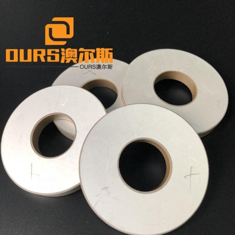 Frequency 20K Welding Transducer Use Ring Piezoceramic Material 50x20x6mm Ultrasonic Piezoelectric Ceramics