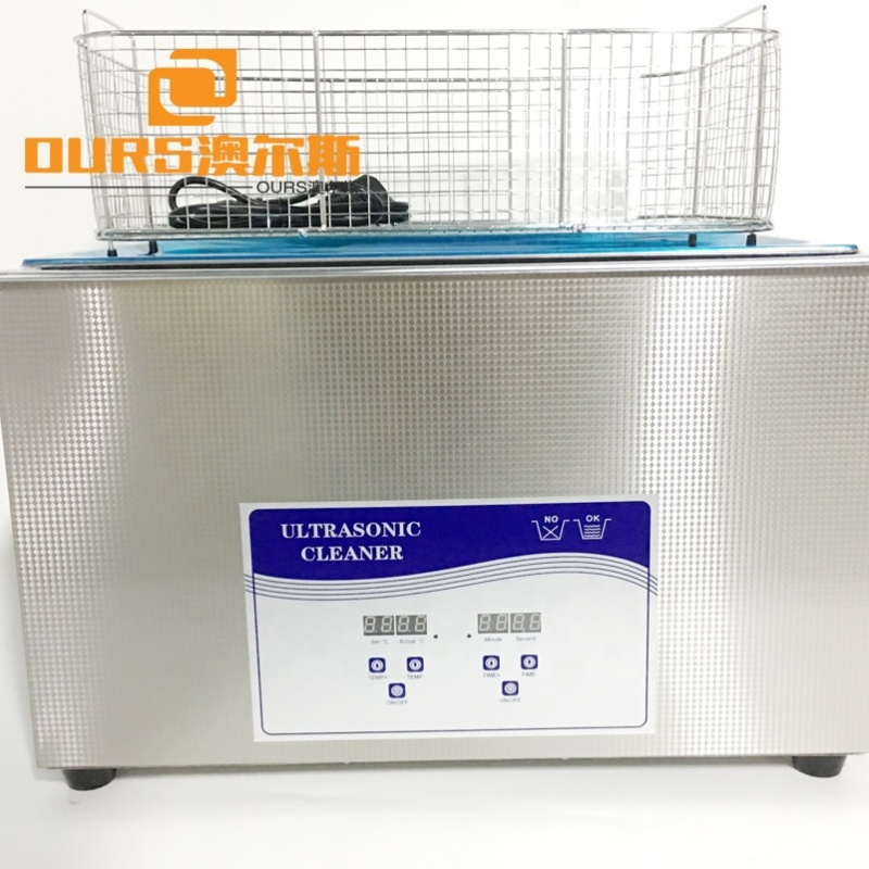 13L Table type Ultrasonic Cleaner high performance design Ultrasonic Cleaning machine Generator ultrasonic washer