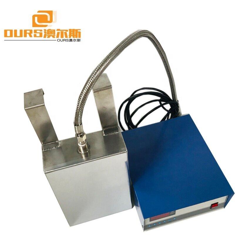 SS316 Customized Submersible Ultrasonic Transducer 1500W Immersible Ultrasonic Transducer 40KHz