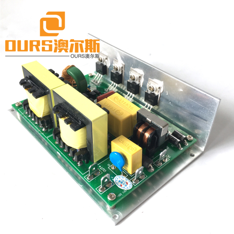 28KHZ 60W PWM Model Ultrasonic PCB Generator With 1pcs 28KHZ 60W Transducer