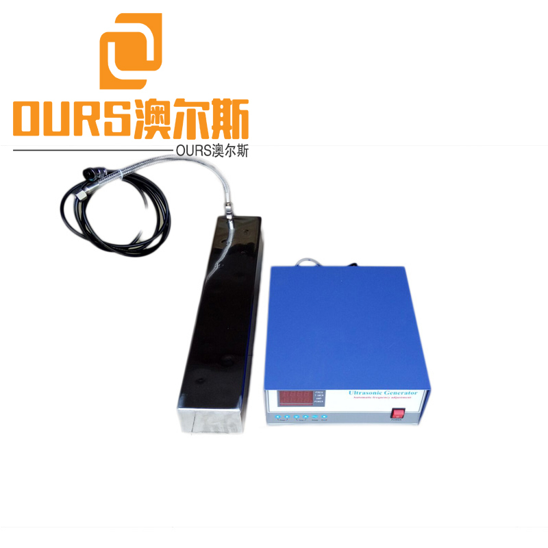 300W 28KHZ Side Tank Mounted Immersible Ultrasonic Generator With Transducer