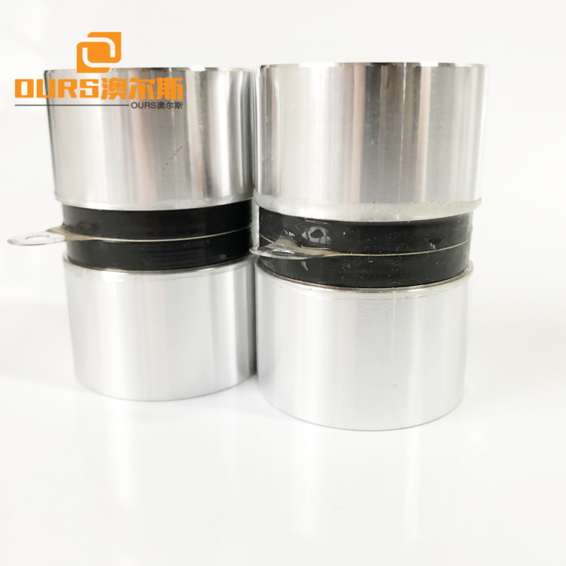 120KHz Ultrasonic Transducer Vibration Sensor 60W Ultrasonic Cleaning Transducer For Ultrasonic Cleaner Tank