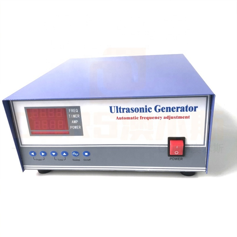 ARS-SPDY-40/100KHZ Industrial Cleaner Ultrasonic Sound Generator Ultrasonic Dual Frequency Generator For Transducer Cleaner Tank