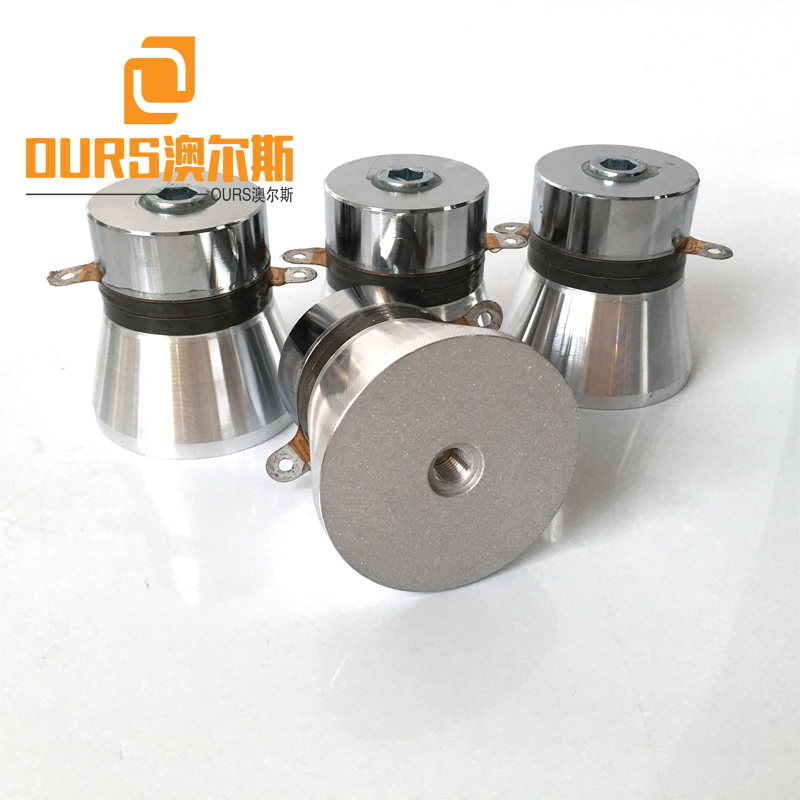 pzt-4 ultrasonic piezo transducer for sale 100W 28khz piezo ultrasonic transducer frequency