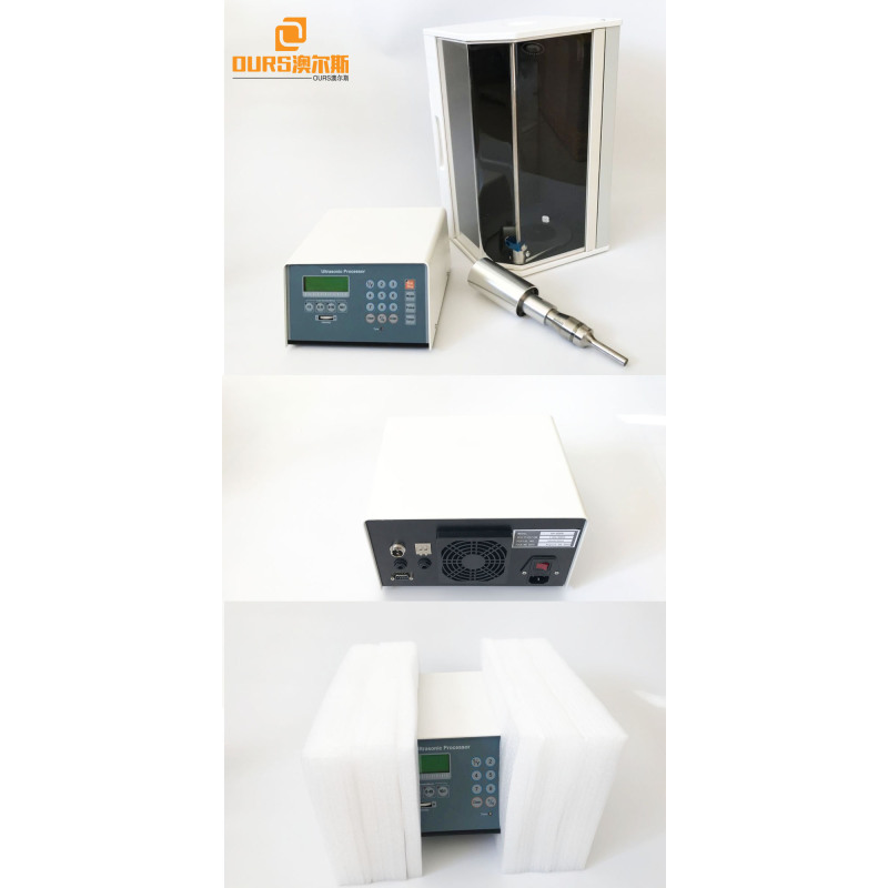 500W Ultrasonic Processor for Dispersing, Homogenizing and Mixing Liquid Chemicals ultrasonic processor for lab use probe sonic