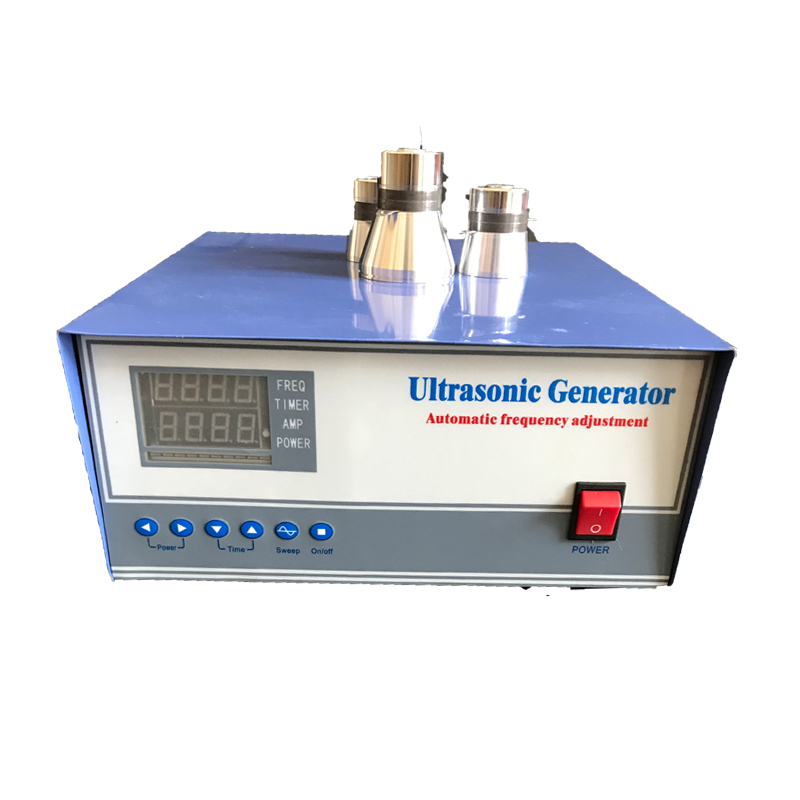 2019 ultrasonic pulse cleaning generator 300W ultrasonic generator with auto frequency tracking and degassing
