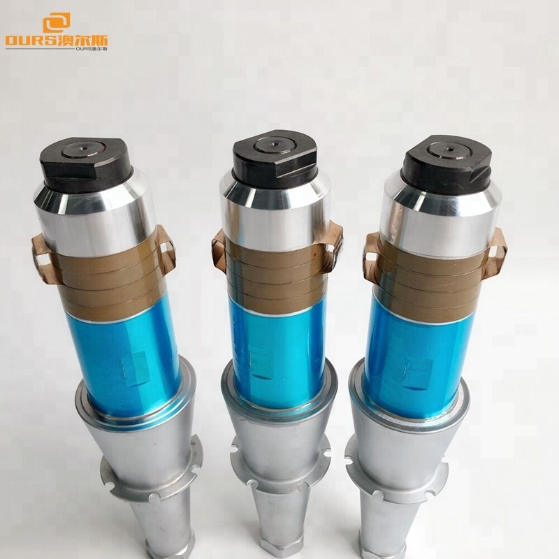 15K High power Ultrasonic welding transducer with booster for welding machine