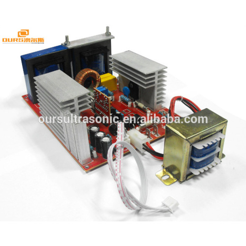 500W  industrial heated ultrasonic cleaning machine for PCB,gun parts,medical component