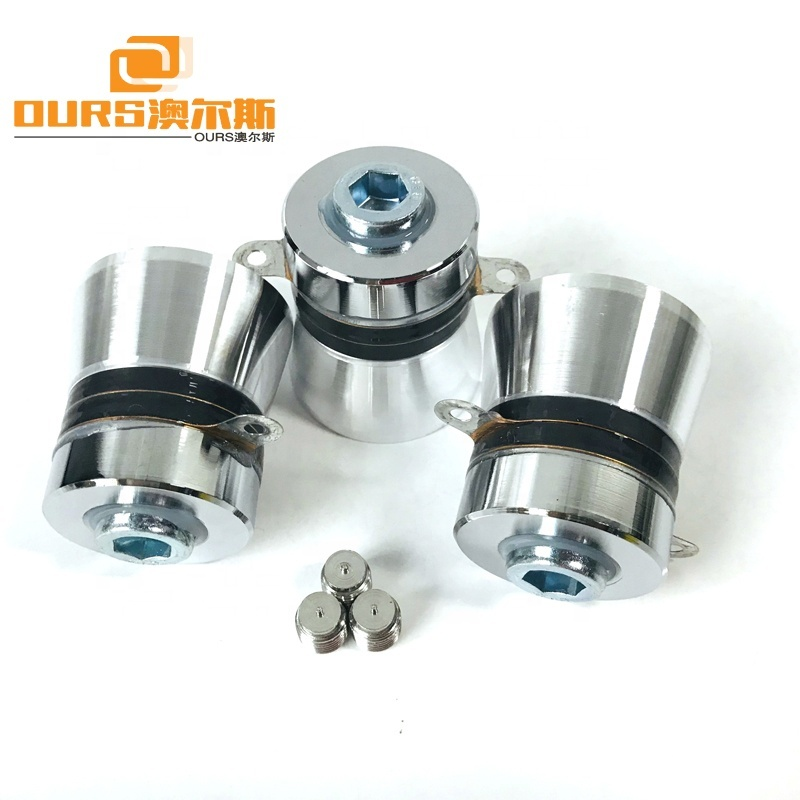 High Frequqency 160KHz High Performance Ultrasonic Transducer Piezo Ceramic Sensor For Metal Parts Cleaning