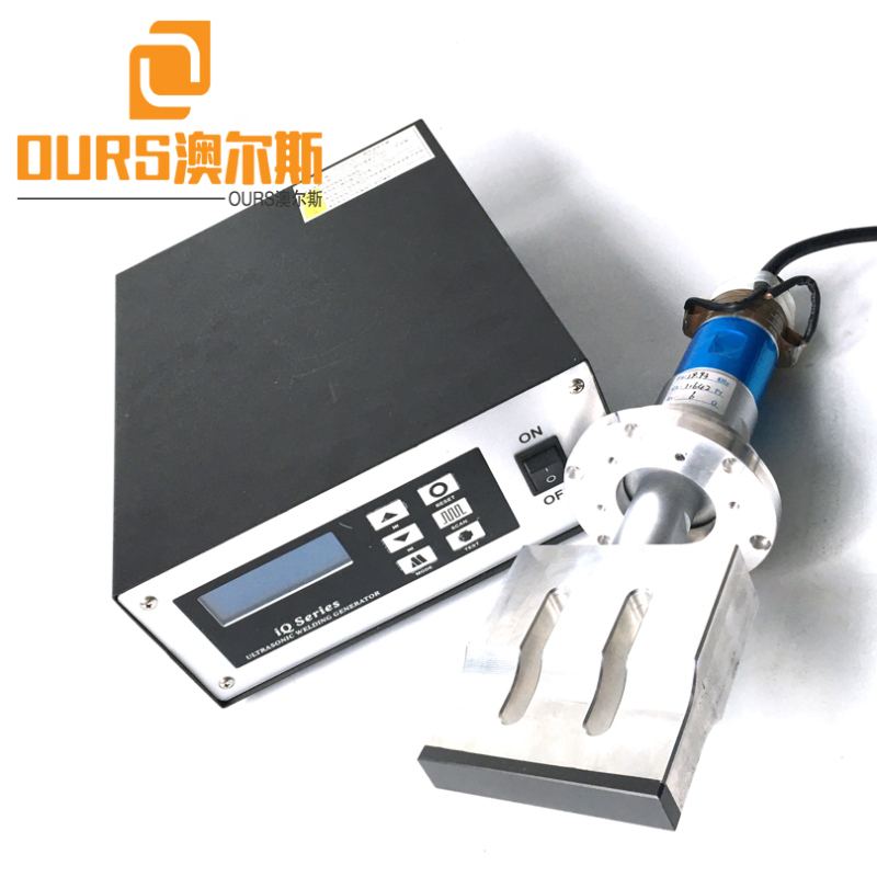15KHZ/20KHZ 2000W Ultrasonic Welding generator And Horn for Automatic Tie on Face Mask Welding Machine