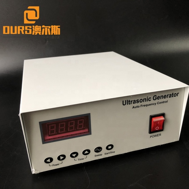 Industrial Vibrating Screen Components 100W Ultrasonic Generator And Piezo Vibration Transducer Vibration Definition Science