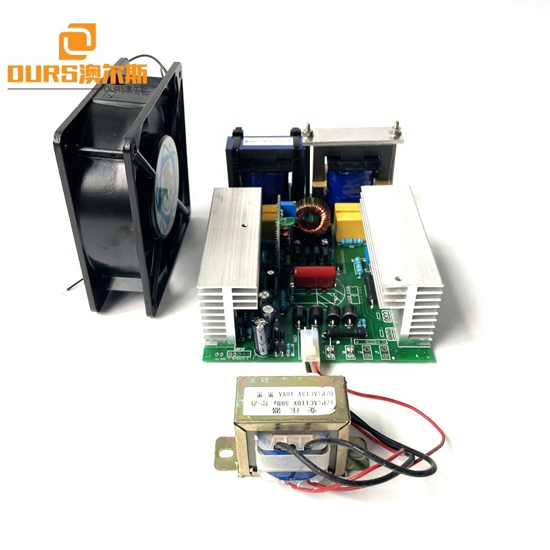 600W Samll Size DIY Ultrasonic Transducer Drive Power Generator Board Used On 20K-40K Single Frequency Cleaner