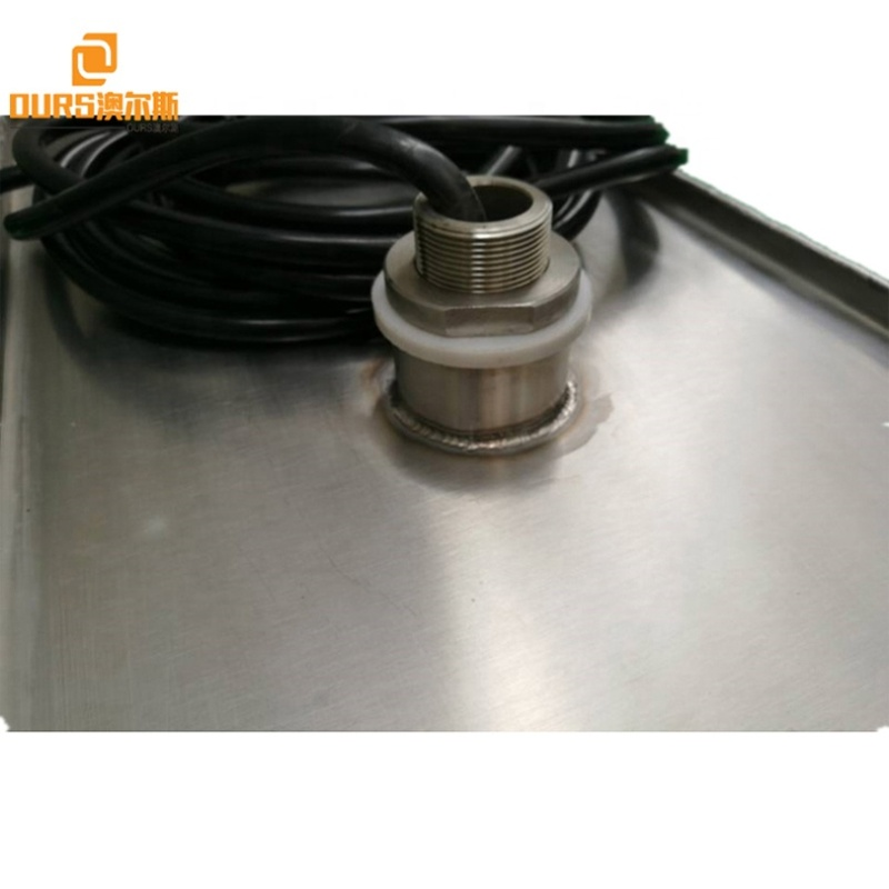 Ultrasonic Cleaning Equipment Industry Ultrasound Immersible Transducer Pack And Cleaning Generator For Heavy Oil Degrease