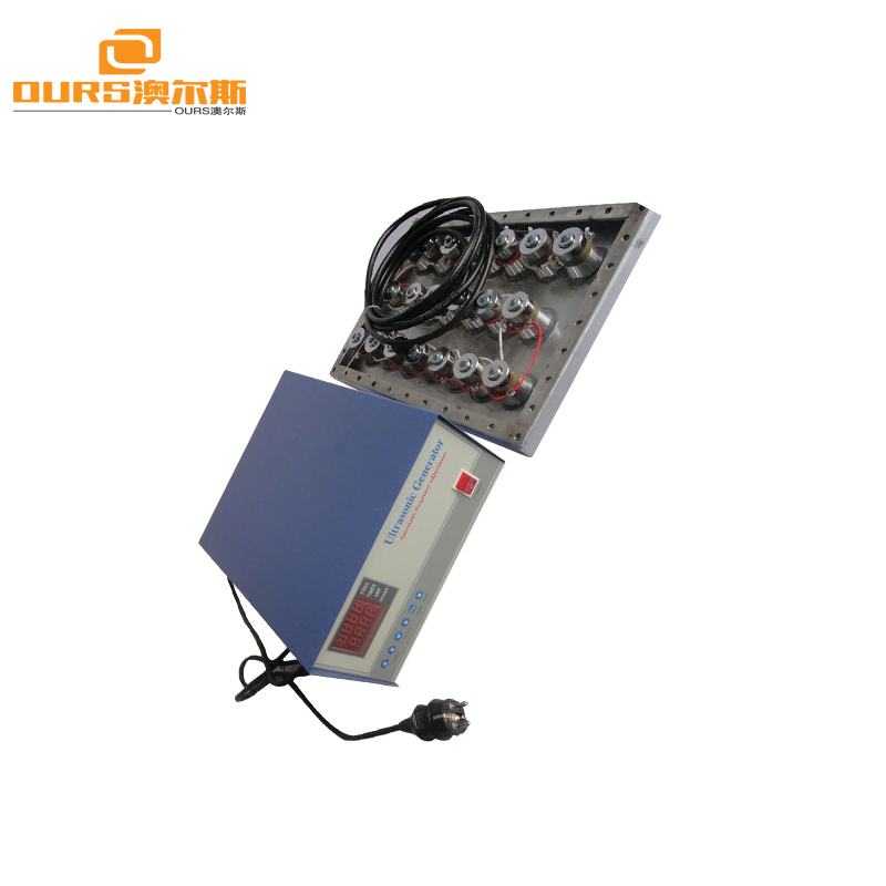 1500w ultrasonic cleaner transducer pack 20-40khz frequency ultrasonic transducer array