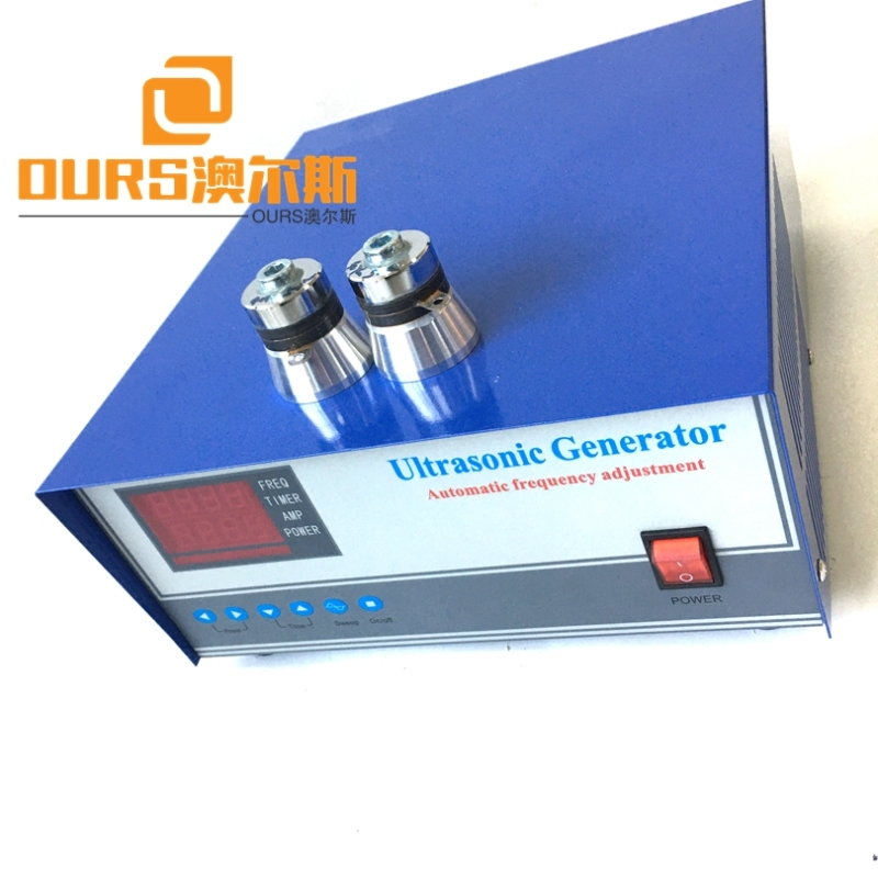 1500W  28KHZ/40KHZ Ultrasonic Wave Generator For Ultrasonic Cleaning Submersible Transducer