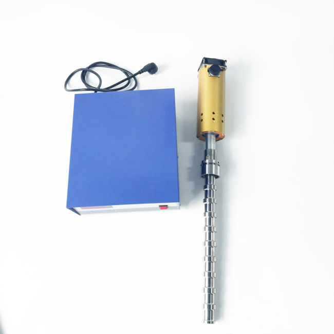 ultrasonic homogenizer for cream emulsification 20khz 1000W continuous ultrasonic emulsification processes