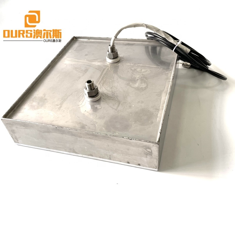 316L Stainless Steel Water Tank Submersible Transducer Immersible Cleaner Plate 28K 40K Use For Medical Motor Filter Cleaning