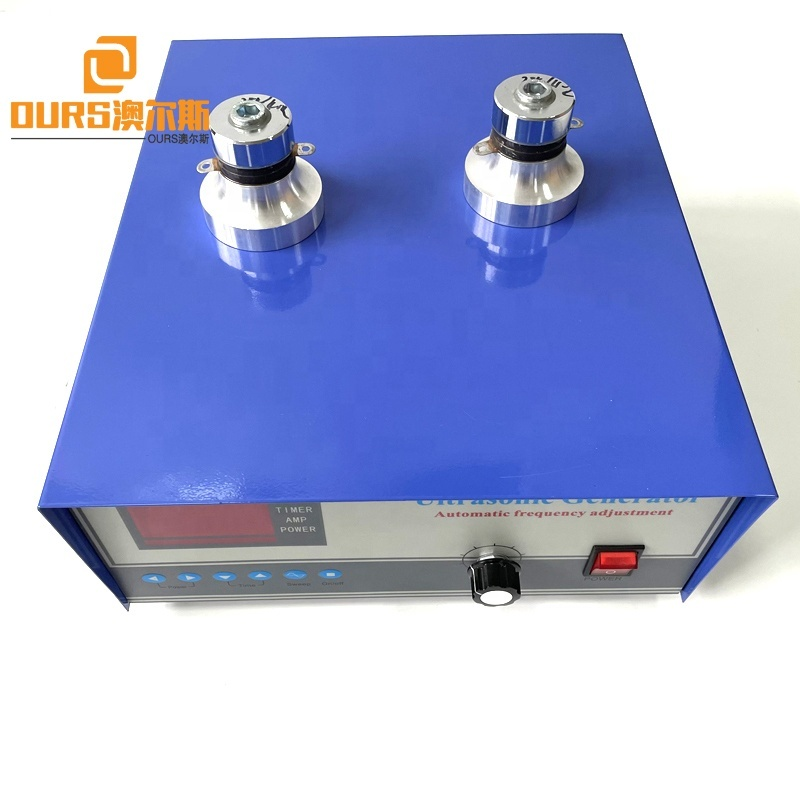 28KHZ 600W Sweep Frequency Ultrasound Signal Wave Generator Used On Industrial Cleaner Bath