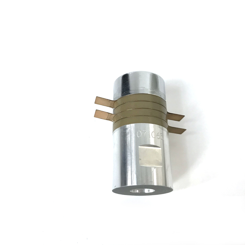 600W ultrasonic welding piezoelectric transducer 28khz plastic spot welding machine transducer for PP PVC ABS material