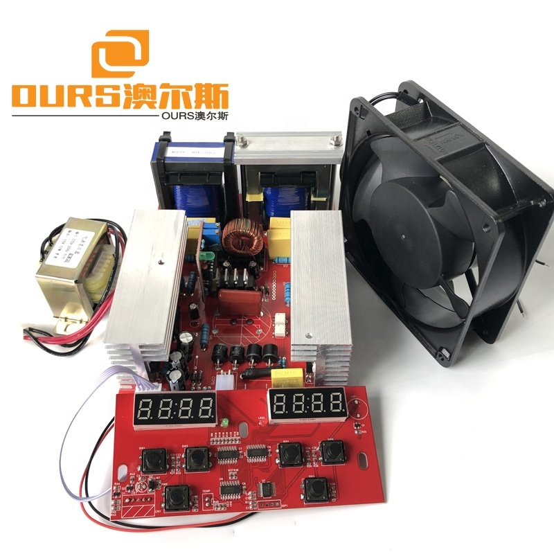 600W/40KHz Ultrasonic PCB generator withTime&heating adjust for Cleaning Machine CE and FCC Washing or Dishwasher