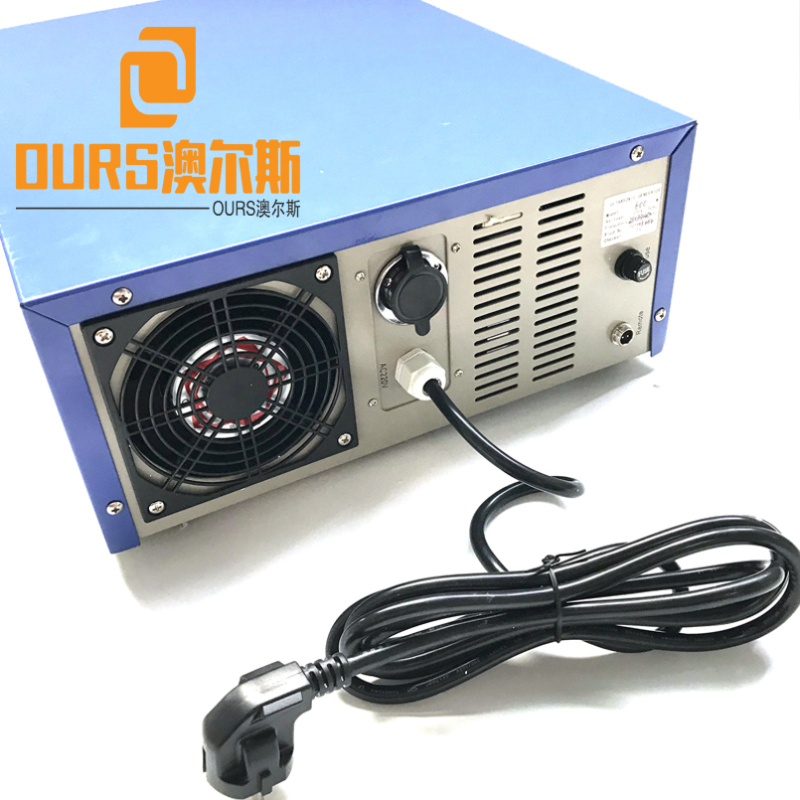 High Efficient 33khz/135khz 300W-1200W dual frequency ultrasonic generator for Cleaning the engine
