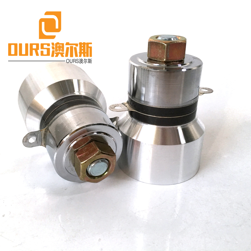 68KHz 60W PZT4 High Frequency diy Ultrasonic Oscillator Transducer For Cleaning Machine