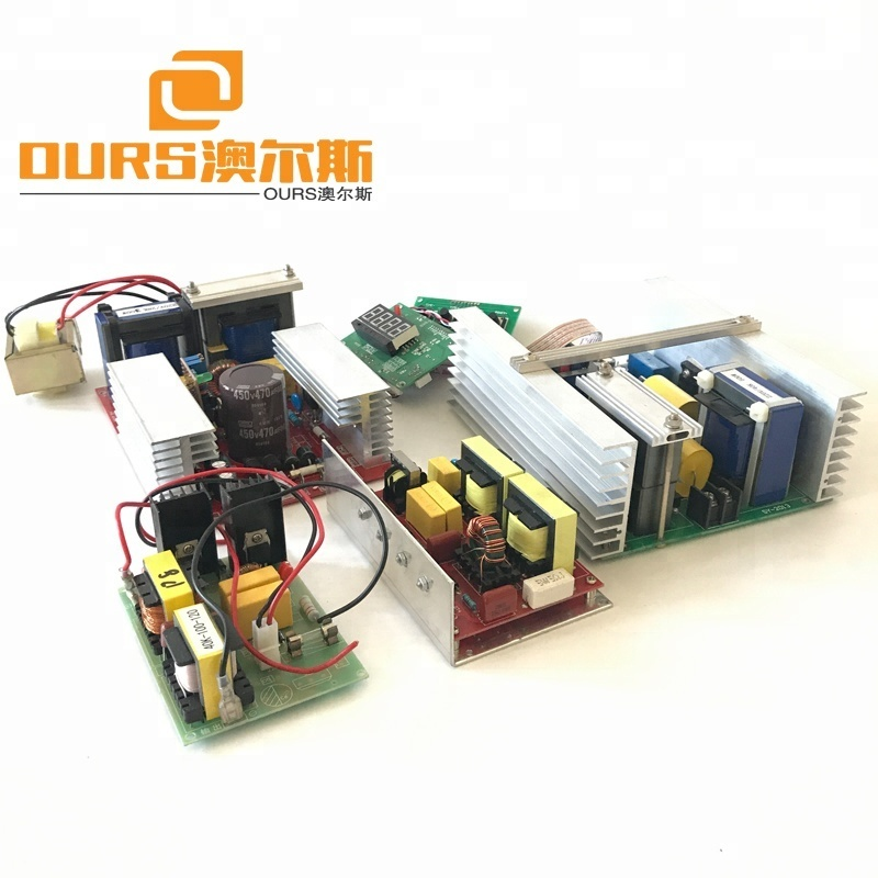 50w-600w Ultrasonic Cleaning transducer and Ultrasonic driver PCB