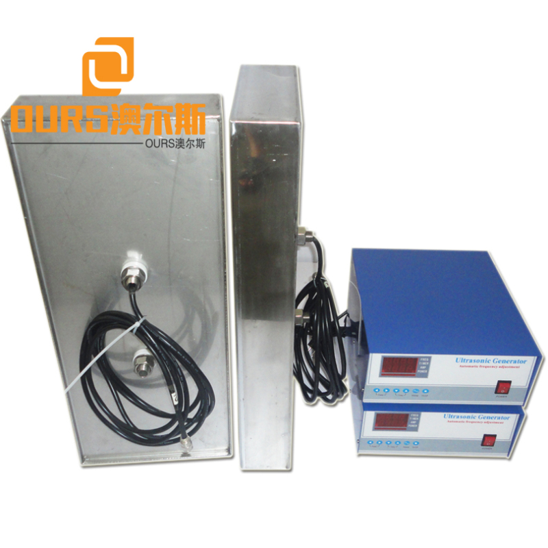25KHZ/28KHZ 5000W High Power Industrial Underwater Submersible Ultrasonic Transducers Pack With Ultrasonic Generator