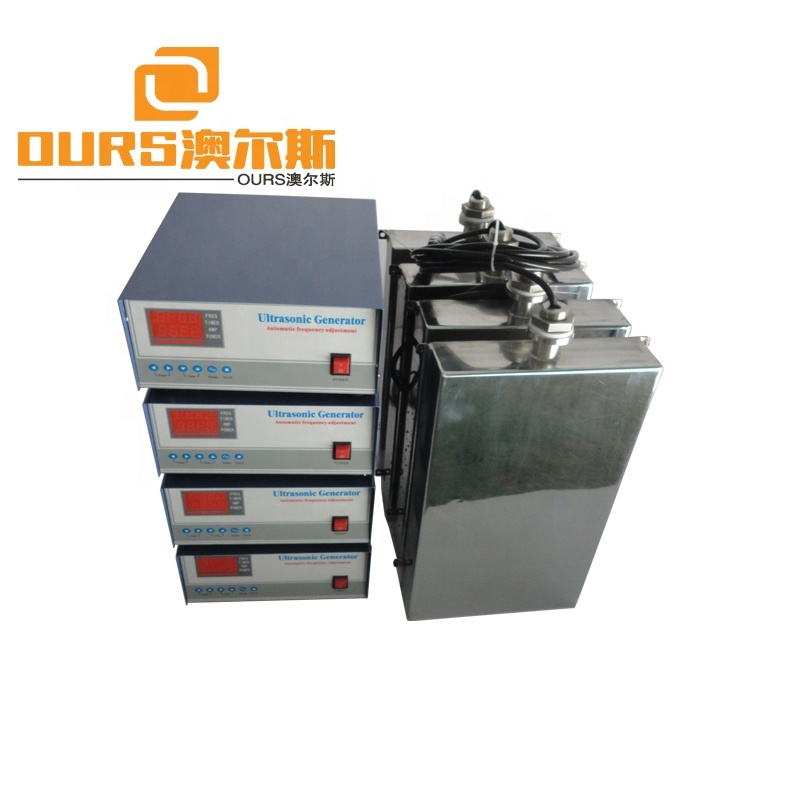 Ultrasonic Cleaner 40KHZ Of Immersible Ultrasonic Transducer Throw In Type For Gasoline Engine Cleaning