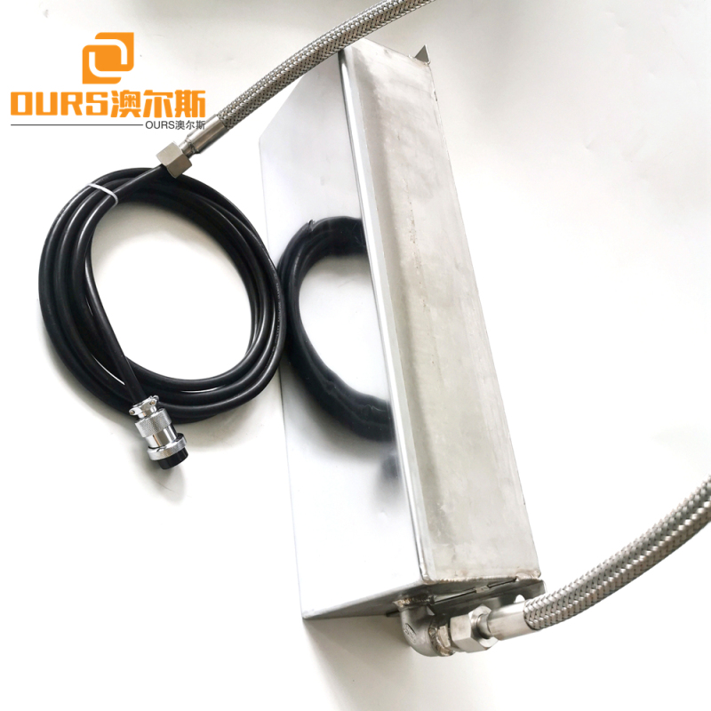 28khz 316 SS  Ultrasonic waterproof  Transducer Pack With Generator for  Adjustable Valve and Cylinder Parts Cleaning