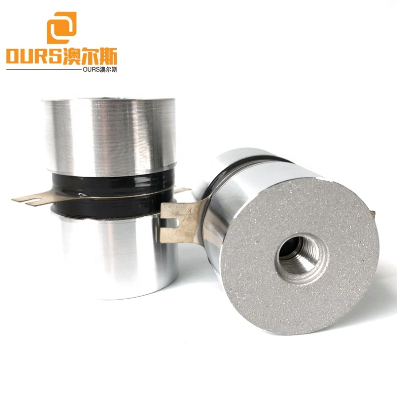 130K 50W High Frequency Vibration Wave Ultrasonic Cleaning Transducer Industrial Cleaning Goods Ultrasonic Transducer