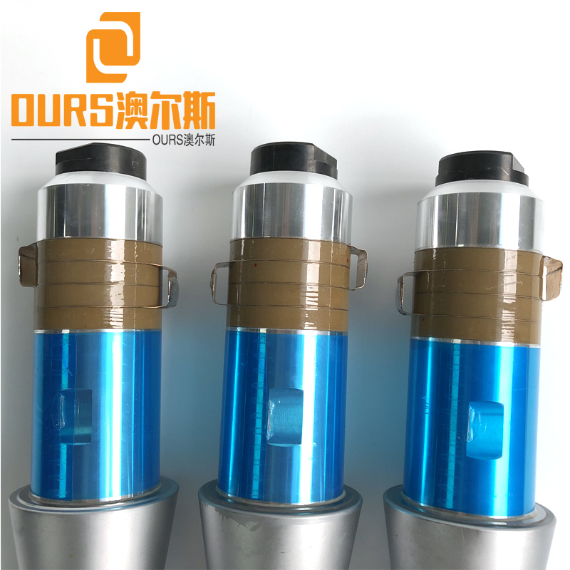 15KHZ High Performance piezoelectric ultrasonic welding transducer with continue and continue working