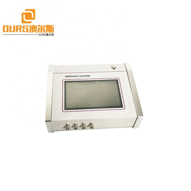 Digital Portable Impedance Analysis Of Ultrasonic Transducer/Piezo Ceramic With Touch Screen AC100V-AC250V