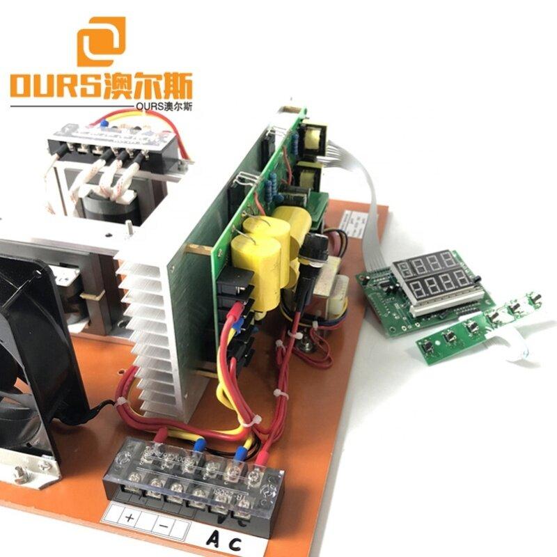 Pulse Wave Dishwasher Ultrasonic Power Generator/Circuit Board 2500W 25K-40K Single Frequency Ultrasonic Cleaning Power