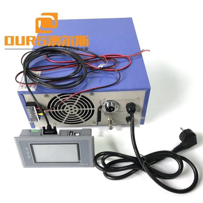 RS485 Ultrasonic Cleaning Technology 20000W Ultrasonic Transmitter Industrial Generator With PDA Digital Controller