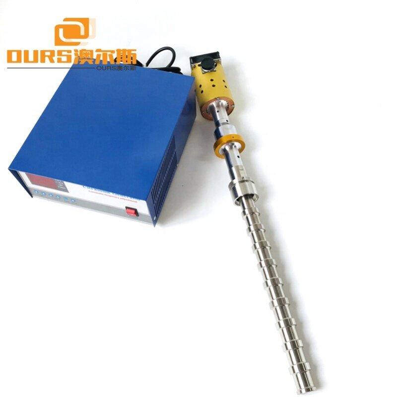 2000W Big Power Industrial Stick Ultrasonic Probe Liquid Reactor For Ultrasonic Mixing System