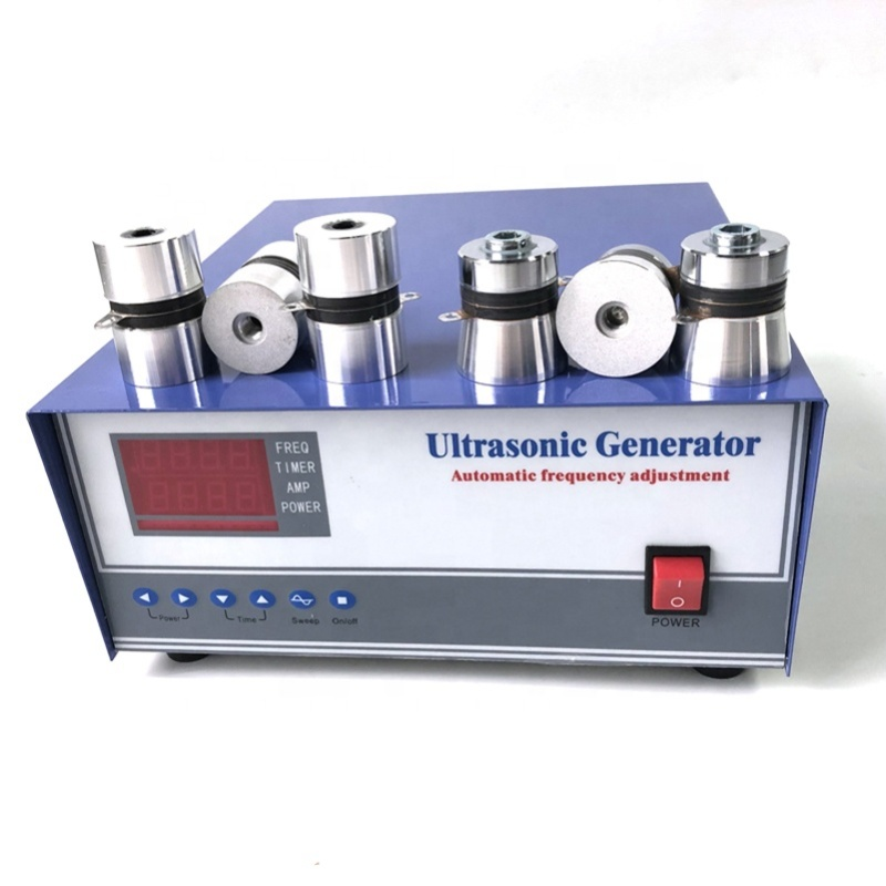 2000W Sweep Ultrasonic Cleaning Generator Frequency Adjustable With Remote Control PLC