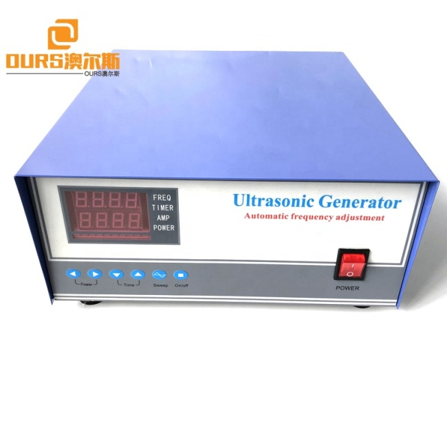 Voltage 220V 50-60HZ Ultrasound Cleaning Generator Sensor Power Engine 40K 1800W With Sweep Frequency Function