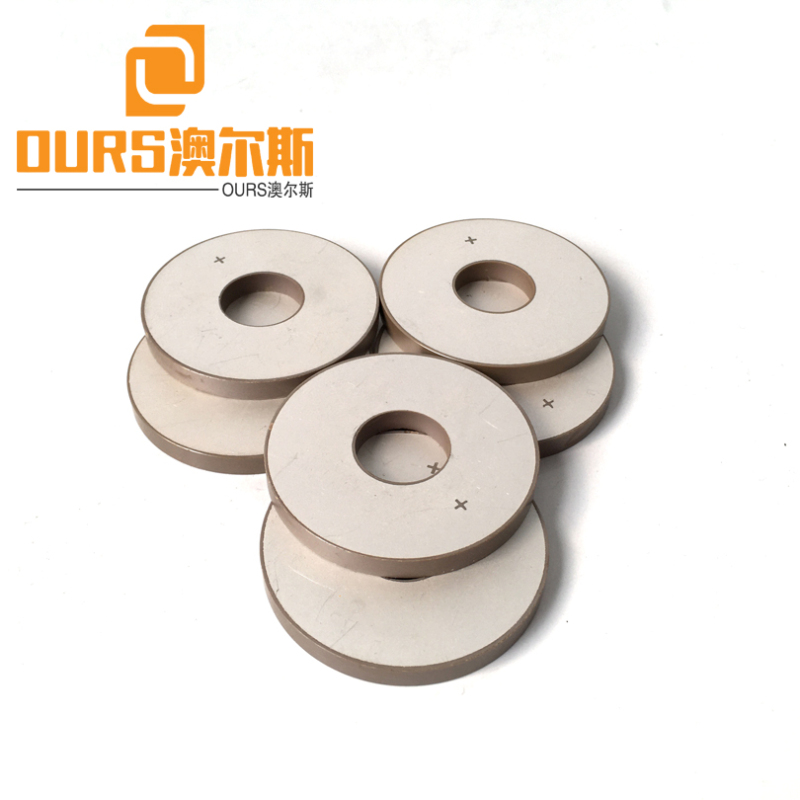 Factory Production 35X15X5mm PZT4 or PZT8 Ultrasonic Piezoelectric Ceramic Materials For Cleaning Transducer