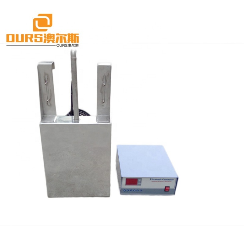1500W Stainless Steel Submersible Ultrasonic Transducer 20-40K Submersible Type Ultrasonic Cleaning Transducer