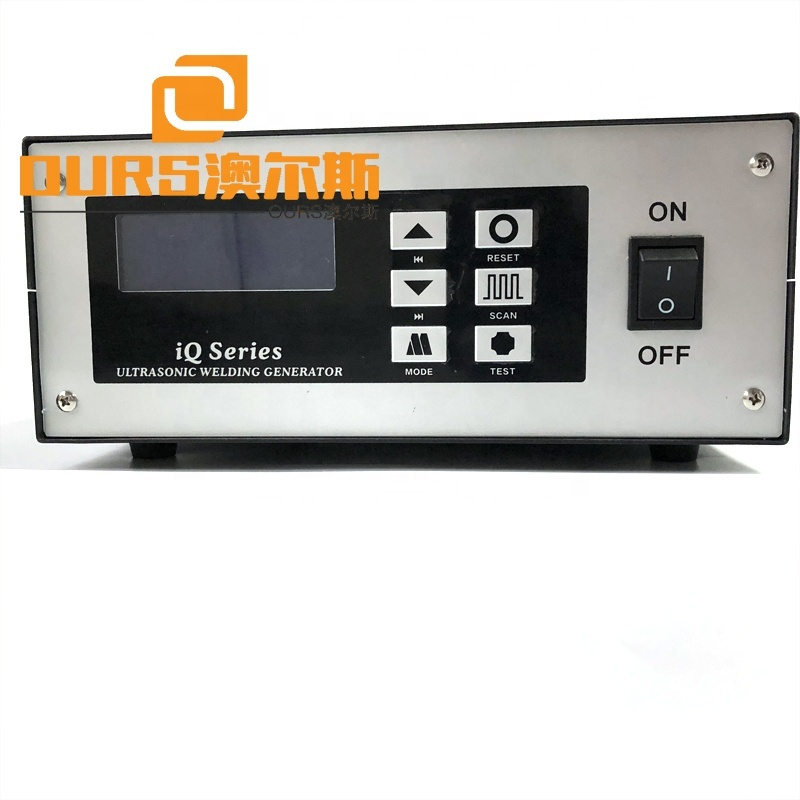 20KHZ Ultrasonic Plastic Cutting Knife Fixed On  Automatic Production Lines Working With Ultrasonic Welding Generator